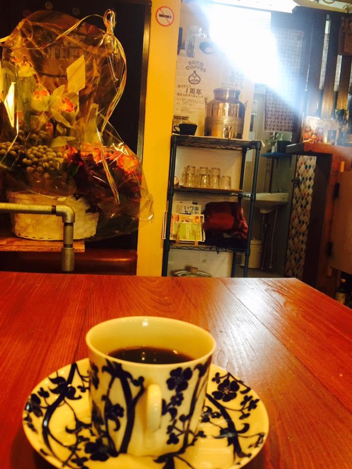 ソトコーヒーさん店内