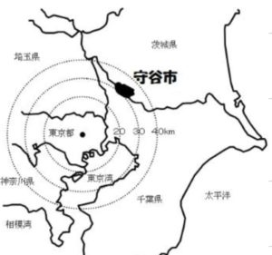 守谷市:東京から40㎞圏内