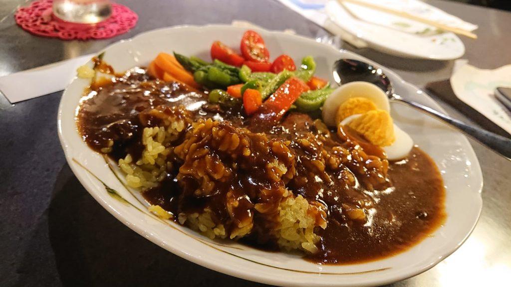 スナックちよ子の野菜カレー