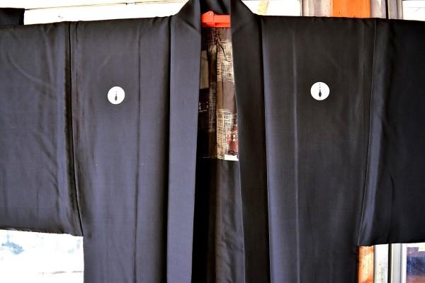 水戸黒お着物