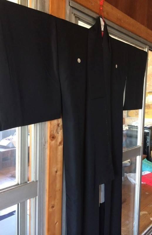 水戸黒のお着物