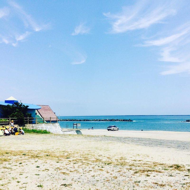 阿字ヶ浦海岸遠景