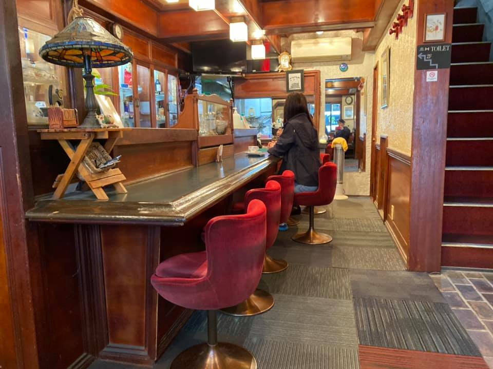水戸の占いのできる喫茶店チャペルの店内の画像